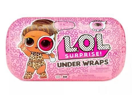 boneca lol surprise capsula  wraps eye spy series