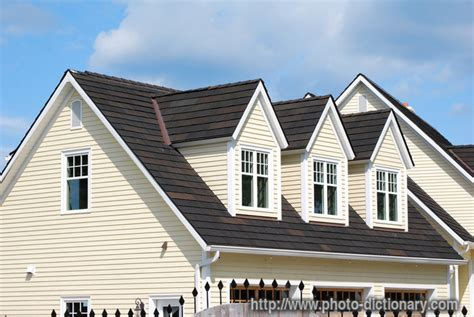 Dormers  Photopicture Definition At Photo Dictionary