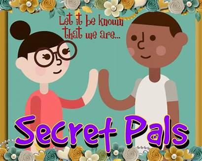 Secret Pals Pal Friend Greetings Card Greeting