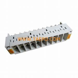10 Pairs 3-pole Over-voltage Protection Magazine Without Gdt Arrester