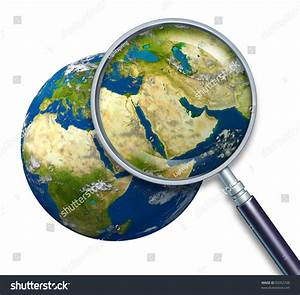 Planet Earth Middle East Crisis With Political Issues Of ...