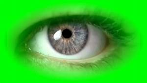 Free Green Screen Video Beautiful Eye Closing