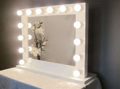 Vanity Mirror With Bulbs - grand lighted vanity mirror w led bulbs by