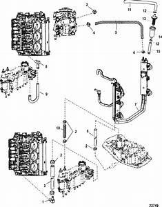 Mercury Marine 225 Hp  Dfi  3 0l Air Hoses Parts