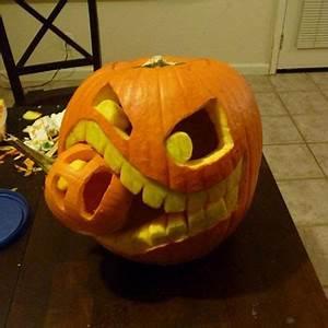 Halloween Basteln Gruselig : k rbis k pfe mit vampirgebiss halloween ideen ~ Whattoseeinmadrid.com Haus und Dekorationen