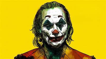 Joker 4k Yellow Wallpapers Desktop Bg Laptop