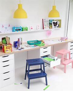 Bureau Enfant Fille : idee deco bureau fille ~ Teatrodelosmanantiales.com Idées de Décoration