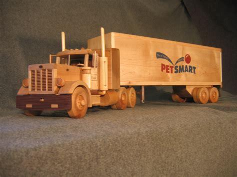 building wooden toy trucks