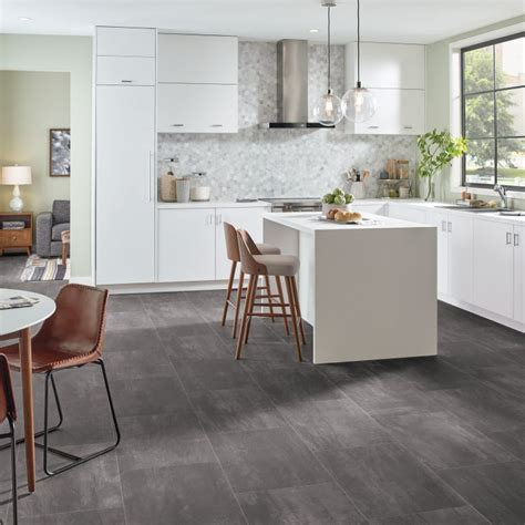 vinyl floor covering for kitchens kitchen flooring guide armstrong flooring residential 8851