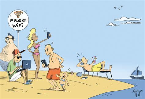 cartoon der woche  wifi giger graphics grafik