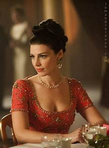 116-1a. Megan Draper in Red Ball Gown from drama Mad Men ...