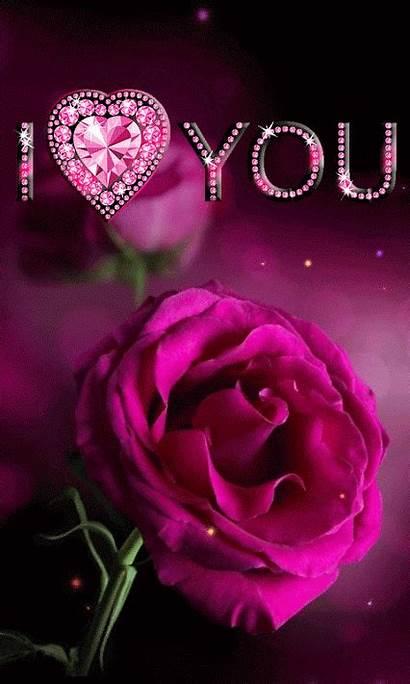 Romantic Flowers Rose Lovethispic Heart Roses Animated