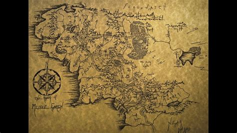 timelapse drawing  middle earth youtube