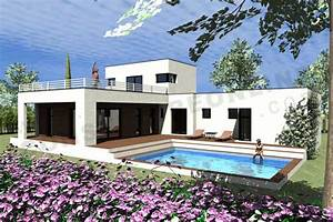 1000 images about maison on pinterest cuisine salon With photo maison toit plat 10 de maison de ville avec piscine toit plat construction