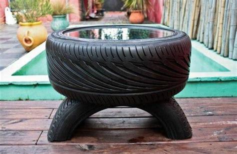 Tisch Aus Autoreifen by Tisch Aus Reifen Wohn Design