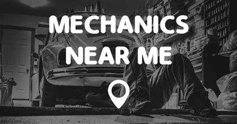Mechanics Near Me  Points Near Me