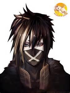 japanese hair pin 107 render anime boy with mask by kuroi hira on deviantart
