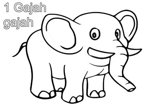 gambar mewarnai gambar binatang iqbalnana