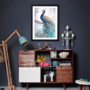 Black wood photo frame wall art print home decor hd framed