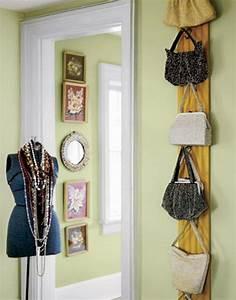 Taschen Platzsparend Aufbewahren : noch 21 praktische tasche lagerung ideen f r sie ankleide handtaschen aufbewahrung ~ Watch28wear.com Haus und Dekorationen