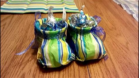 disposable toilet tissue paper baby booties tutorial