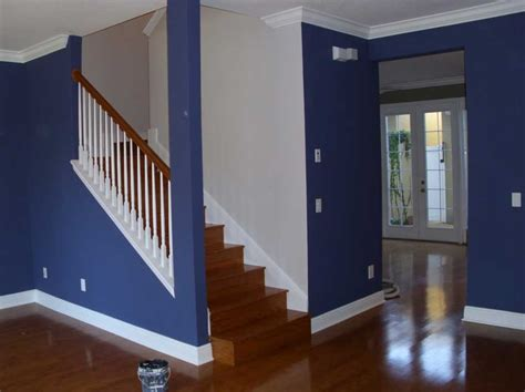 home interior design wall colors how much to paint a house interior with blue and white