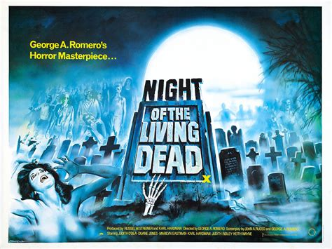the living dead poster for of the living dead 1968 usa wrong