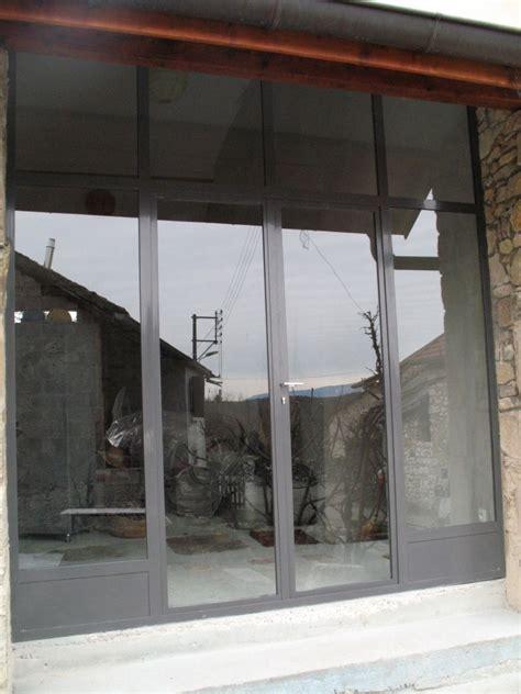 porte entree vitree acier accueil design et mobilier