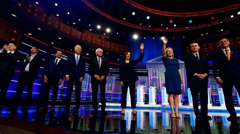 stream   democratic presidential debate