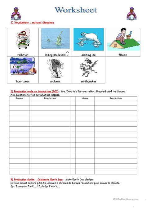 natural disasters worksheet free esl printable worksheets made by teachers
