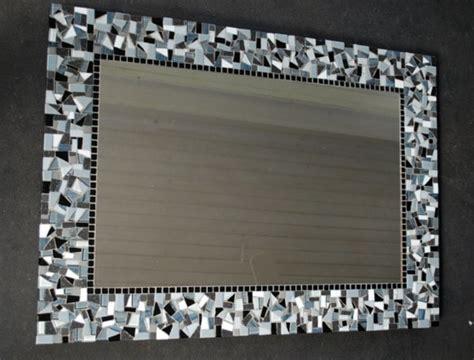 mosaic framed bathroom mirror mosaic around bathroom mirror get cheap crushed tile