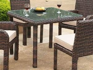 Kleiner Gartentisch Mit Stühlen : rattan tisch viele tolle beispiele ~ Michelbontemps.com Haus und Dekorationen
