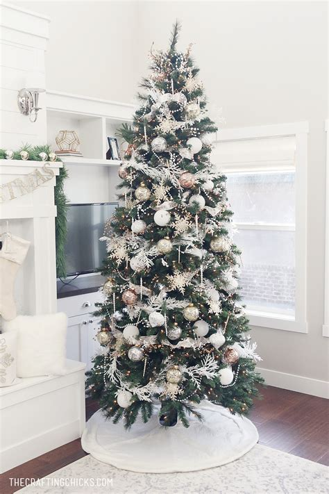 white gold michaels makers dream tree  crafting chicks