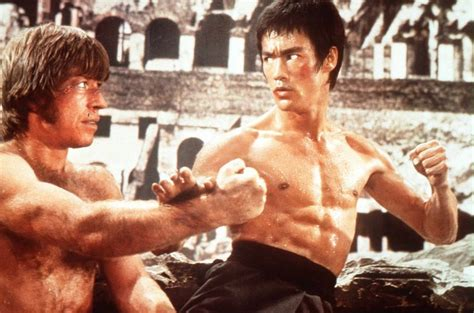 chuck norris vs bruce lee top 10 greatest movie face offs geekshizzle