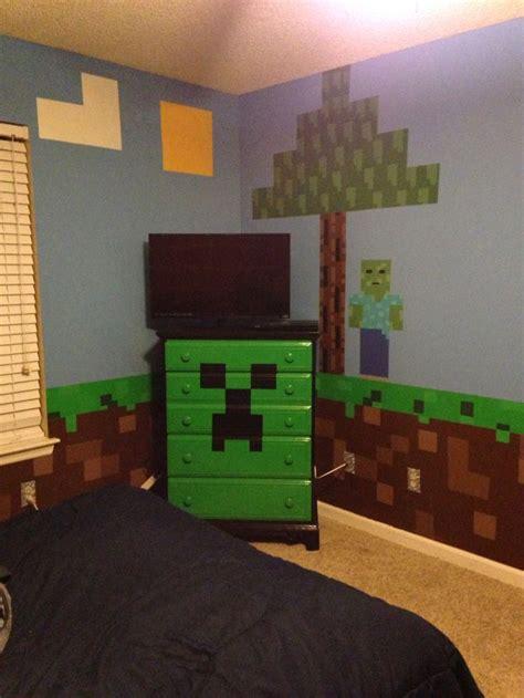minecraft bedroom minecraft creeper chest  drawers