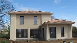 Choisir Couleur Facade Maison : couleur de facade de maison elegant ce pavillon des annes ~ Nature-et-papiers.com Idées de Décoration