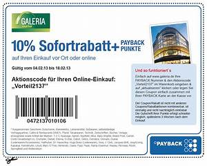 Payback De Ecoupons : kaufhof mit payback coupon beim einkauf bei galeria kaufhof online und offline satte 10 ~ One.caynefoto.club Haus und Dekorationen
