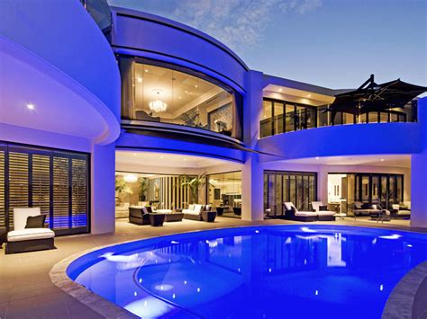million newly listed modern mansion  queensland australia homes   rich