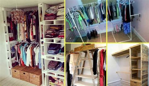 Low Cost Closet Organization Ideas by 15 Low Cost Diy Closet For The Clothes Storage
