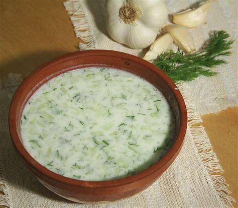 cold soup name tarator