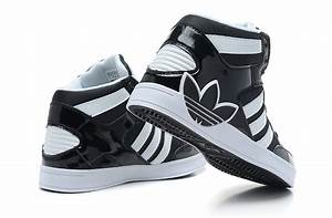 Adidas High Tops Black And White hollybushwitney.co.uk