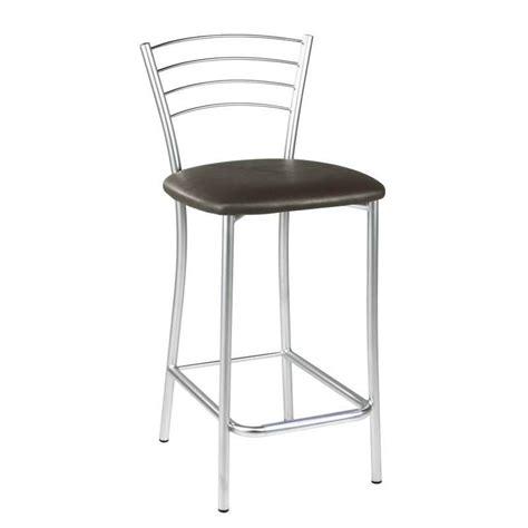 tabouret snack de cuisine en m 233 tal roma 4 pieds tables chaises et tabourets