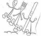 Embroidery Patterns Silverware Stitch Cross Dishes Sewing Crafty Saturday Pattern Nopatternrequired Fruit Crazy Transfers Crafts Applique Template Adorable sketch template