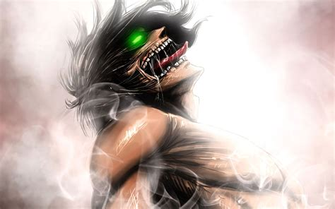 titan eren wallpapers top  titan eren backgrounds