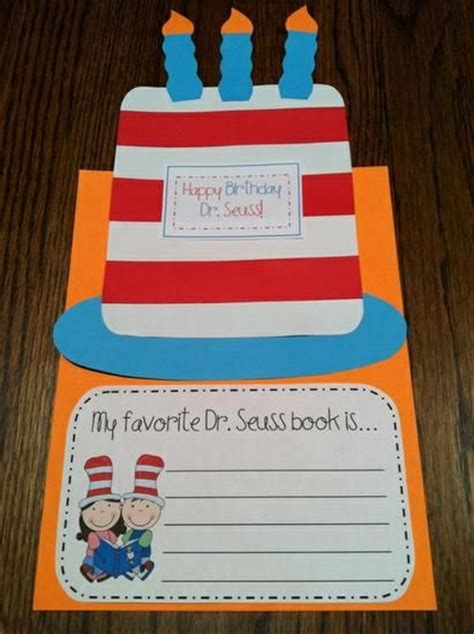 preschool dr seuss lesson plans my favorite seuss book crafts crafts for and 809