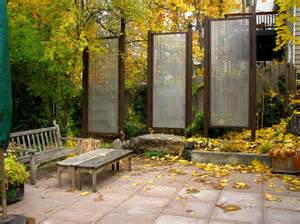 Backyard Privacy Screens Ideas