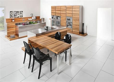 cuisine inox et bois plan de travail pour cuisine choisir la bonne couleur