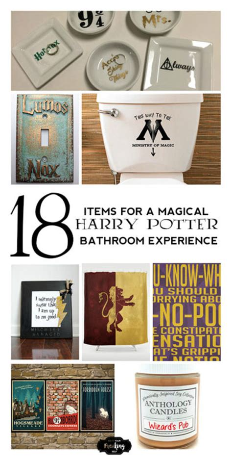 harry potter bathroom accessories do it your freaking self 18 items for a magical harry