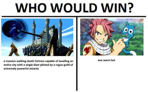 Who Would Win Memes - meme who would win oc fairytail
