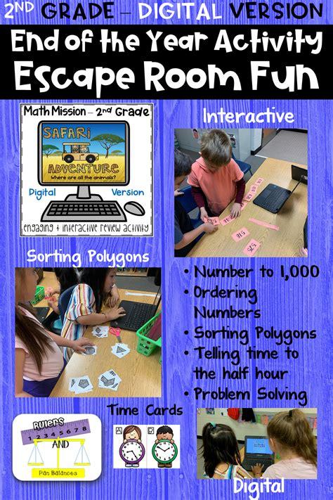 grade math mission digital escape room safari